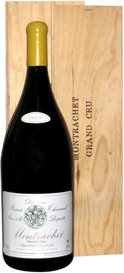 Domaine Baron Thenard, Montrachet Grand Cru AOC, 2005, wooden box, 3 л