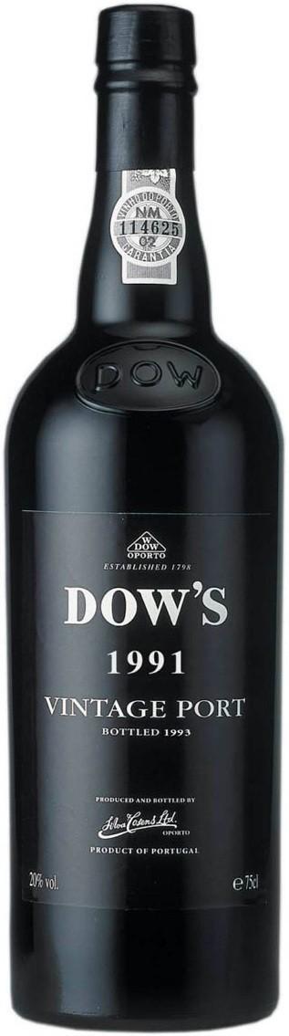 Dow's, Vintage Port, Douro, 1991