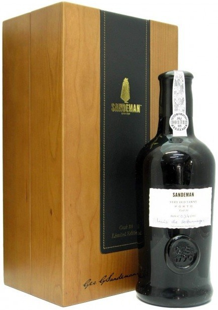 Sandeman, Very Old Tawny Porto, wooden box