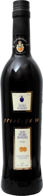 Amontillado Prestige Don Pedro Romero, semi-sweet, 0.5 л