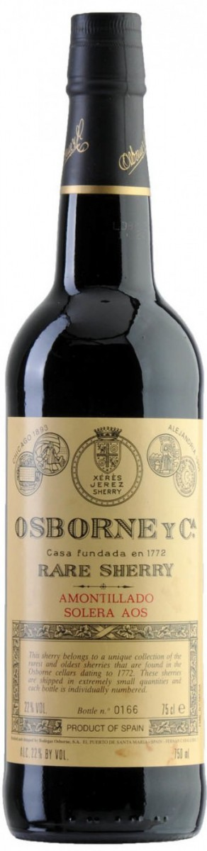 Osborne, Amontillado Solera