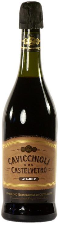 Игристое вино Cavicchioli, Grasparossa Amabile DOC