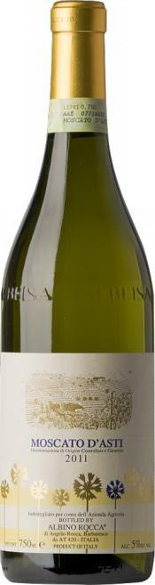 Игристое вино Albino Rocca, Moscato d'Asti DOCG, 2011