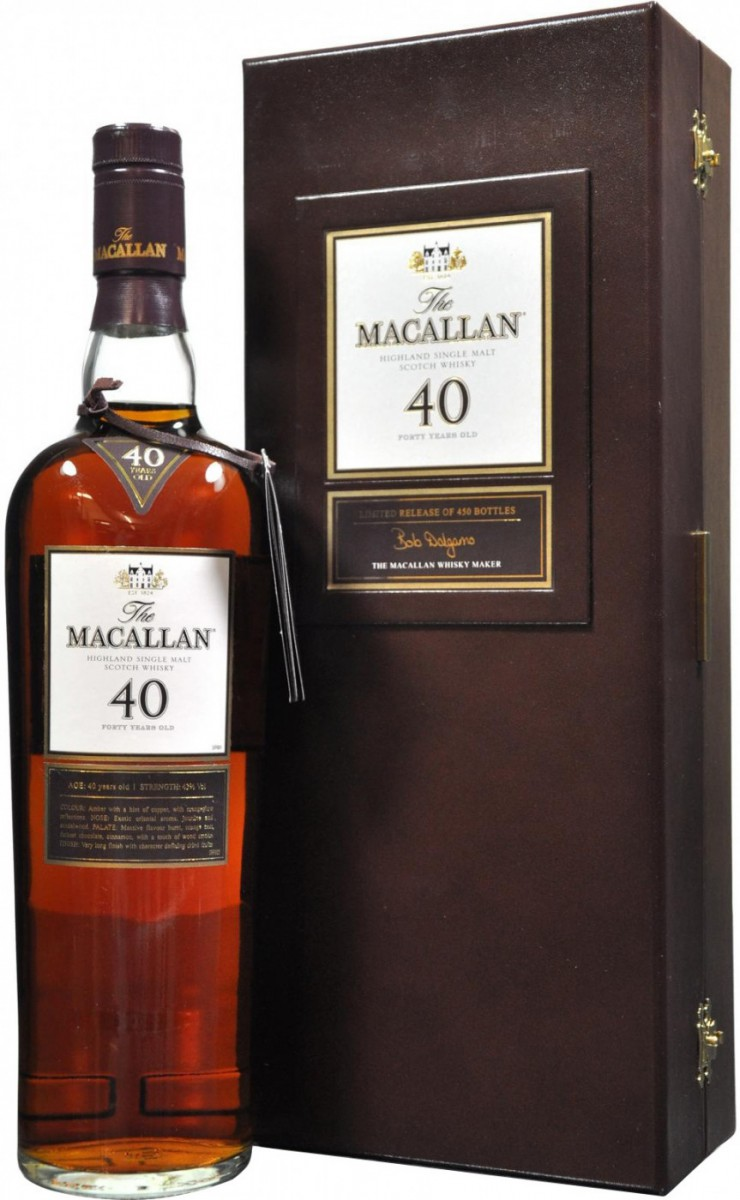 The Macallan, 40 Years Old Limited Release, gift box, 0.7 л