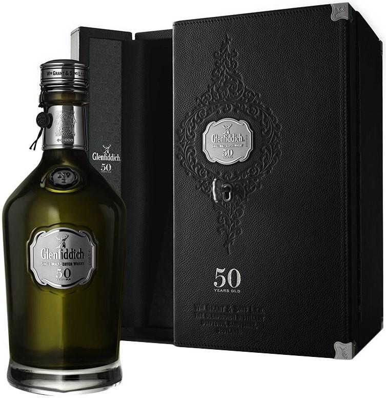 Glenfiddich 50 Years Old, gift box, 0.7 л