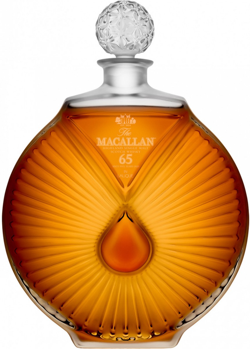 The Macallan in Lalique, 65 Years Old, gift box, 0.7 л