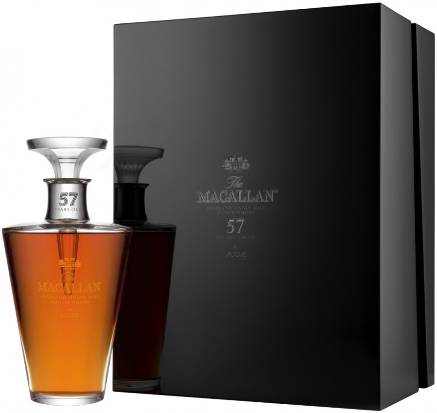 The Macallan in Lalique, 57 Years Old, gift box, 0.7 л