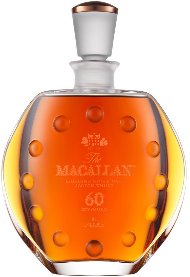 The Macallan in Lalique, 60 Years Old, gift box, 0.7 л