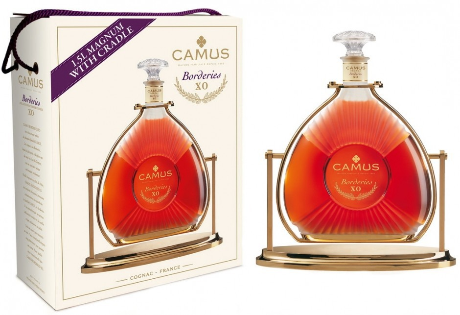 Camus X.O. Borderies, gift box with cradle, 1.5 л