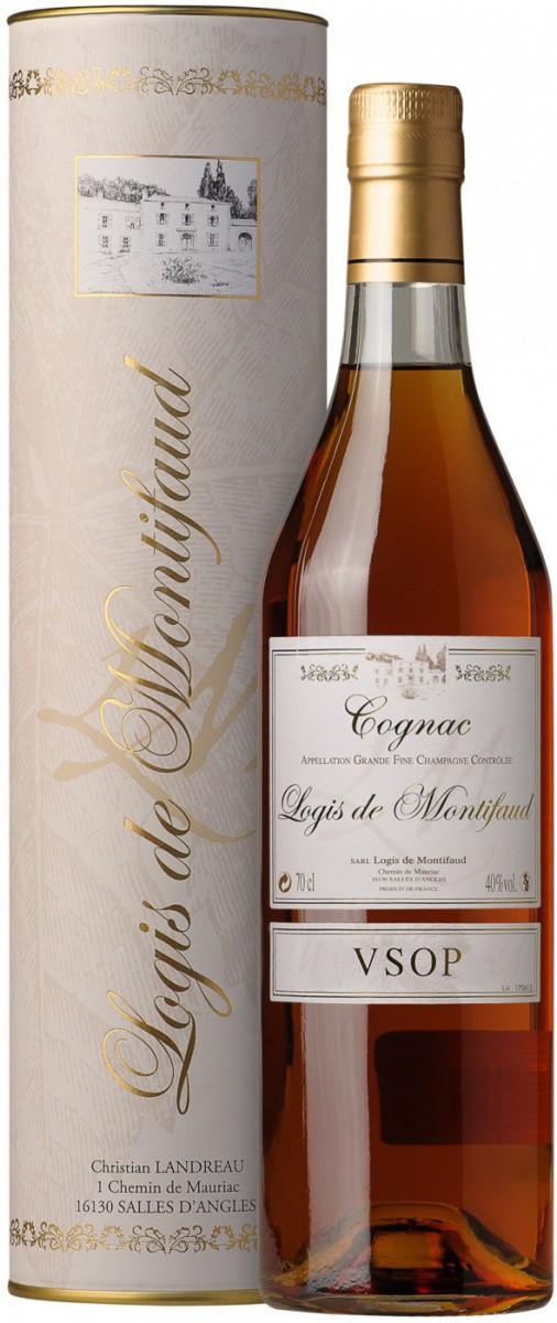 Logis de Montifaud  VSOP  Grand Champagne Cognac AOC, gift box, 0.7 л