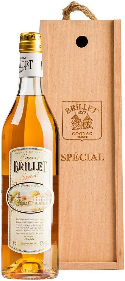 Brillet, Special Petite Champagne, gift box, 0.7 л
