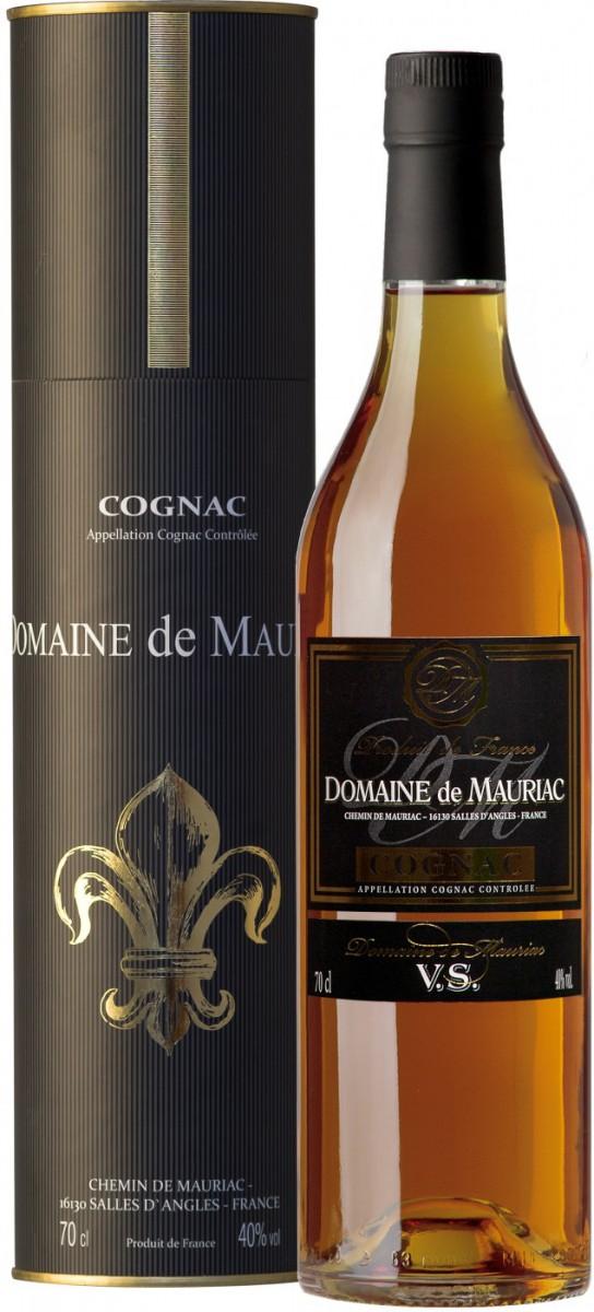 Domaine De Mauriac VS, gift tube, 0.7 л