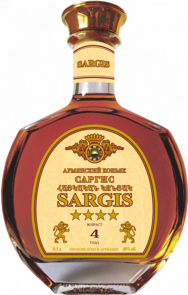 Sargis 4 stars, 0.5 л