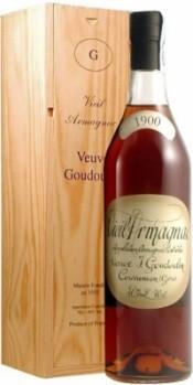 Bas-Armagnac  Veuve J.Goudoulin 1900, 0.7 л