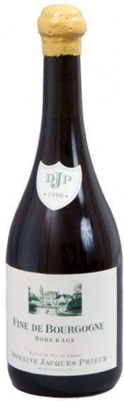 Domaine Jacques Prieur, Fine de Bourgogne, 1990, gift box, 0.7 л
