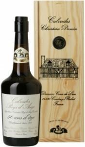 Coeur de Lion Calvados Pays d`Auge 50 Years, wooden box, 0.7 л