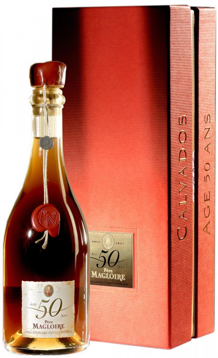 Pere Magloire 50 YO, gift box, 0.5 л