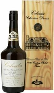 Coeur de Lion Calvados 1939, wooden box, 0.7 л