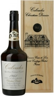 Coeur de Lion Calvados 1961, wooden box, 0.7 л
