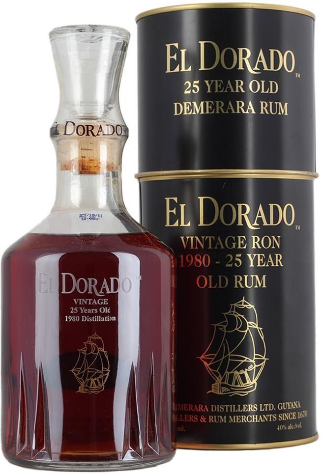 El Dorado Special Reserve 25 Years Old, gift box, 0.7 л
