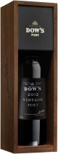 Dow's Vintage Port, Douro, 2012, wooden box, 1.5 л