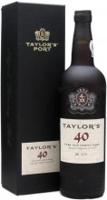 Taylor's, Tawny Port 40 Years Old, gift box