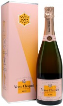 Шампанское Veuve Clicquot, Brut Rose, with gift box