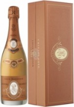Шампанское Cristal Rose AOC 2004, gift box