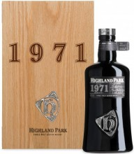 Highland Park, 1971, wooden box, 0.7 л