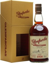 Glenfarclas 1958 Family Casks (43,7%), in gift box, 0.7 л