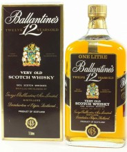 Ballantine's 12 Years Old, with box, 1 л