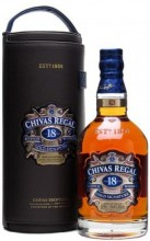 Chivas Regal 18 years old, leather case, 1.75 л