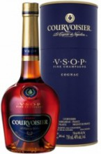Courvoisier VSOP, with metal box, 0.7 л
