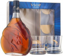 Meukow V.S.O.P., gift box with 2 glasses, 0.7 л