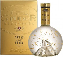 Studer, Swiss Gold Vodka, gift box, 0.7 л