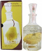 Paul Devoille, Poire William, in decanter with a pear, 0.7 л