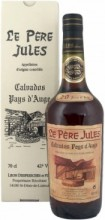 Le Pere Jules 20 Years Old, AOC Calvados Pays d'Auge, gift box, 350 мл