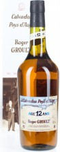Roger Groult, Calvados 12 ans d'age, gift box, 0.7 л