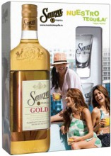 Sauza Gold with 2 glasses, 0.7 л